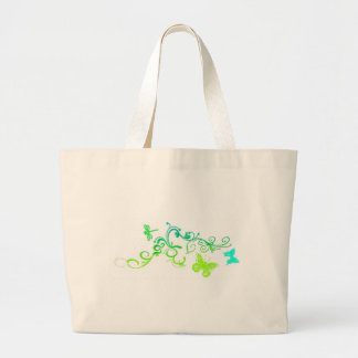 Vector Butterfly Design Tote Bag