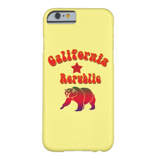 Vector California Republic Hippy Text Barely There iPhone 6 Case