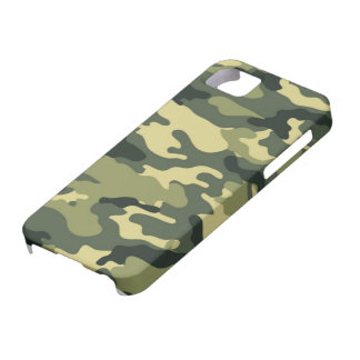 Vector Camouflage I5 case Case For The iPhone 5