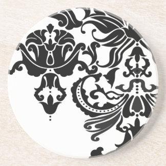 Vector Damask Coaster