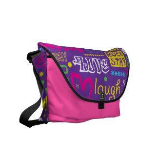 Vector Design Rickshaw Bag Messenger Bag