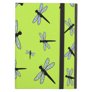 Vector Dragonfly Collage (Green Background) Case For iPad Air