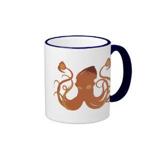 Vector Giant Squid Glass Mug