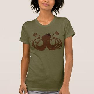 Vector Giant Squid Ladie's Petite T-Shirt