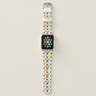 Vector Graphic Seamless Pattern Apple Watch Band