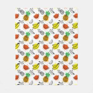 Vector Graphic Seamless Pattern Fleece Blanket