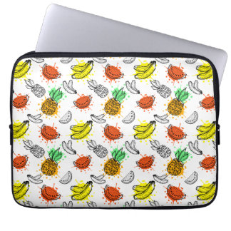 Vector Graphic Seamless Pattern Laptop Sleeve