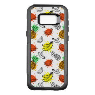 Vector Graphic Seamless Pattern OtterBox Commuter Samsung Galaxy S8+ Case