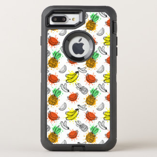 Vector Graphic Seamless Pattern OtterBox Defender iPhone 8 Plus/7 Plus Case