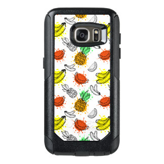 Vector Graphic Seamless Pattern OtterBox Samsung Galaxy S7 Case