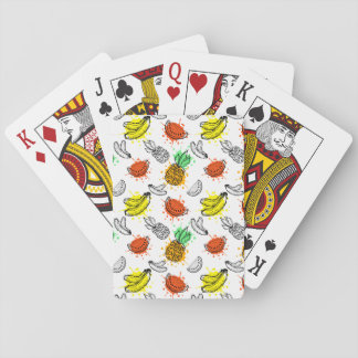 Vector Graphic Seamless Pattern Playing Cards
