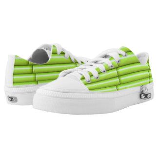 Vector Green Bamboo Printed Shoes