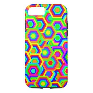 Vector Hexagons Background iPhone 8/7 Case