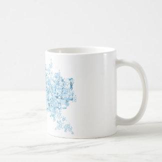vector ice cubes Mug