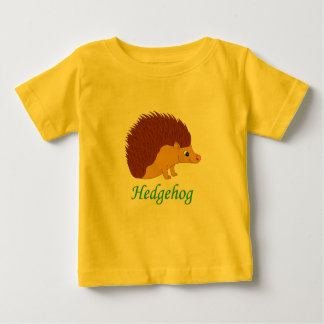 Vector illustration Hedgehog Baby T-Shirt