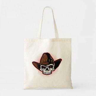 Vector illustration of Cowboy skull