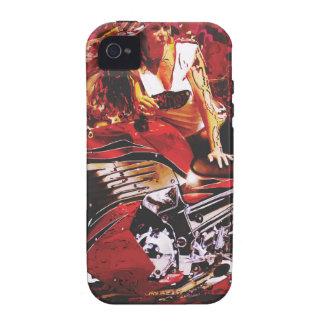 vector motorcycle girl jpg iPhone4 case