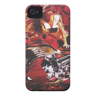 vector motorcycle girl jpg iPhone 4 cover
