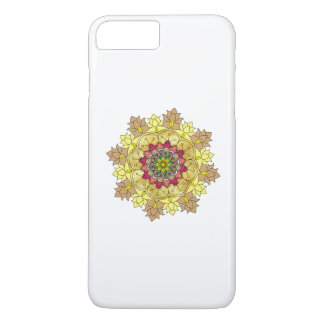 Vector ornate mandala illustration for coloring bo iPhone 8 plus/7 plus case