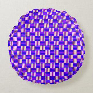 Vector seamless pattern round cushion