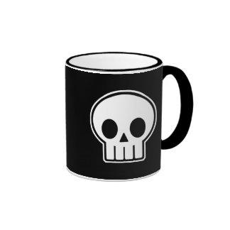 Vector Skull Halloween Mugs