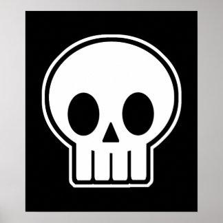 Vector Skull Poster / Print