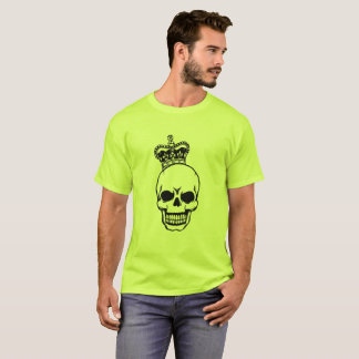 Vector Skull with crown T-Shirt