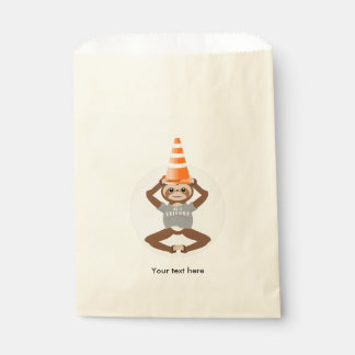 Vector Sloth Be A Unicorn Favour Bags