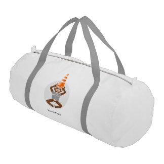Vector Sloth Be A Unicorn Gym Bag