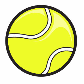 vector tennis ball graphic photo sculpture