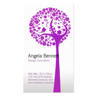 Vector Tree Nature Business Card