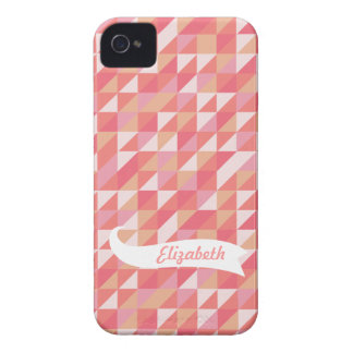Vector Triangles Case Mate Name Iphone 4 Case