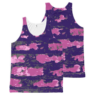 Vector Wall All-Over Print Singlet