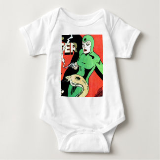 Veda the Cobra Woman Baby Bodysuit
