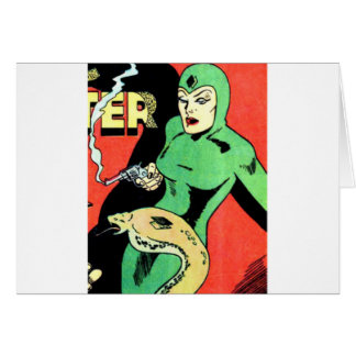 Veda the Cobra Woman Card