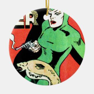 Veda the Cobra Woman Ceramic Ornament