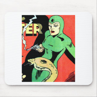 Veda the Cobra Woman Mouse Pad