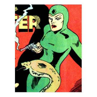 Veda the Cobra Woman Postcard
