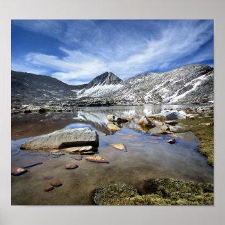 Vee Lake - Sierra Poster