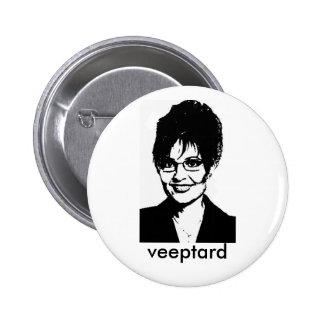 veeptard, veeptard 6 cm round badge
