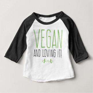 Vegan and loving it! baby T-Shirt