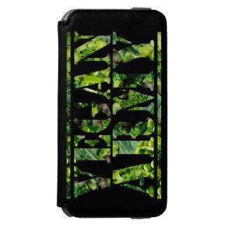 VEGAN ARMY INCIPIO WATSON™ iPhone 6 WALLET CASE