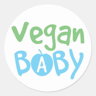 Vegan Baby Boy Stickers