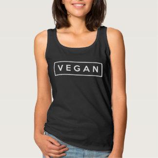 vegan. basic tank top