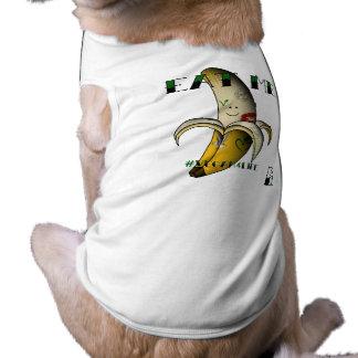 vegan bob tattooed vegan banana animal shirt