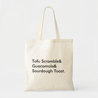 Vegan Breakfast Tote