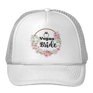 Vegan Bride cap