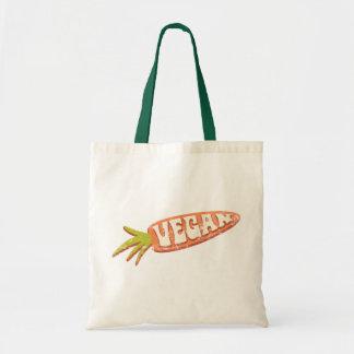 Vegan Carrot Budget Tote Bag