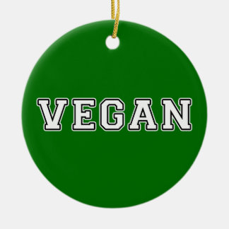 Vegan Ceramic Ornament