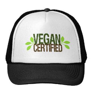Vegan Certified Hat